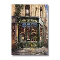 Ritmo-Yeşil Cafe Kanvas Tablo