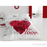 Cotton Box 3D Tek Kişilik Nevresim Takımı - Be Love