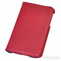 """Classone Mila T1100K 7"""" Samsung Tab3 T110/112 Kırmızı Tablet Kılıfı"""