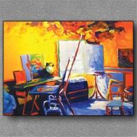Tablom Mary Cassat'ın Atölyesi Kanvas Tablo