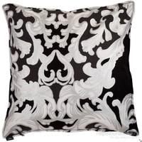 Yastıkminder Koton Siyah Beyaz Gümüş Dekoratif Yastık