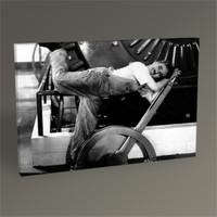 Tablo 360 Charlie Chaplin Tablo 45X30