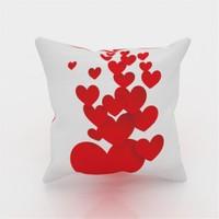 Erenev 9133 Uçan Kalpler Dekoratif Yastık