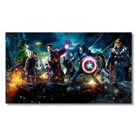 Tictac Kahramanlar Kanvas Tablo - 50X100 Cm