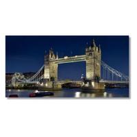 Tictac Londra Köprüsü Kanvas Tablo - 60X120 Cm