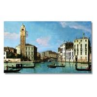 Tictac Venedik 1 Kanvas Tablo - 60X120 Cm