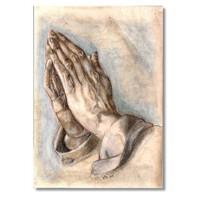 Tictac Albrecht Durer Kanvas Tablo - 50X100 Cm