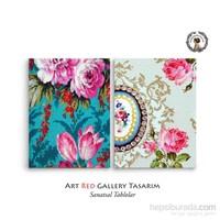 Artred Gallery 2 Parça Duvar Kağıtları Tablo83X55
