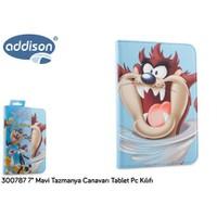 "Addison 300787 7"" Mavi Tazmanya Canavarı Tablet Pc Kılıfı"