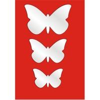Küçük Kelebekler Dekoratif Ayna