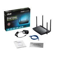 Asus RT-AC1200G+ Dual-Band AC1200 Torrent,Bulut,VPN,EWAN,USB 3.0,3G/4G,DLNA Gigabit Router, Access Point