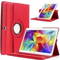 "Kılıfshop Samsung Galaxy Tab S2 Sm T815 9.7"" 360° Dönebilen Kılıf Kırmızı"