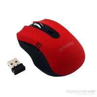 Trilogic M26 2.4GHz 5D Kırmızı Kablosuz Mouse