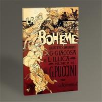 Tablo 360 La Boheme, Musica Di Puccini 45X30
