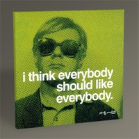 Tablo 360 Andy Warhol Everybody 30X30