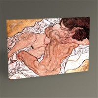 Tablo 360 Egon Schiele Embrace Tablo 45X30