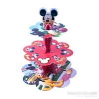 Kullanatmarket Mickey Cupcake Standı 1 Adet