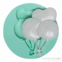 Kurdelya Küçük Balon Silikon Kalıbı