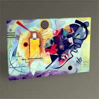 Tablo 360 Wassily Kandinsky Yellow Red And Blue Tablo 75X50