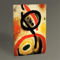 Tablo 360 Joan Miro Kadın Iıı Tablo 45X30
