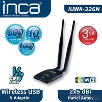 Inca IUWA-326N 300 Mbps Mini USB Wireless Adapter