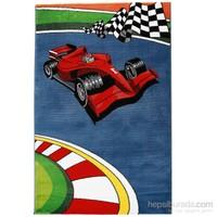 Rixos Home Çocuk Halısı 120X170 Cm Kırmızı Ferrari