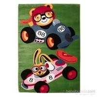 Rixos Home Çocuk Halısı Yarış Arabası Çizgi Karakterler 120x170 cm