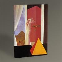 Tablo 360 Rene Magritte The Window Tablo 45X30