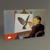 Tablo 360 Rene Magritte Clairvoyance Tablo 45X30