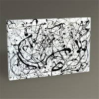 Tablo 360 Jackson Pollock No. 14 Tablo 45X30
