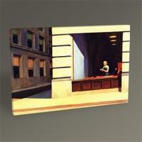 Tablo 360 Edward Hopper New York Office Tablo 45X30