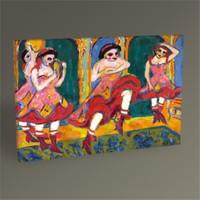 Tablo 360 Ernst Ludwig Kirchner -Czardas Dancers 45X30