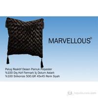 Marvellous Köşe Yastığı Siyah