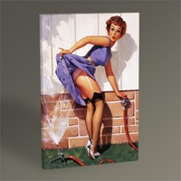 Tablo 360 Pin Up Girl Tablo 45X30