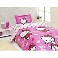 Hello Kitty Tek Kişilik Nevresim Takımı Mis Love