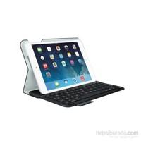 Logitech Folio Beyaz/Siyah Ultrathin iPad Air Klavye + Koruma Kılıfı