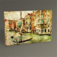 Tablo 360 Venezia Vintage Card Tablo 45X30