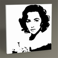 Tablo 360 Elizabeth Taylor Tablo 30X30