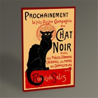 Tablo 360 Chat Noir Tablo 45X30