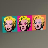 Tablo 360 Marilyn Monroe Pop Art Tablo 60X20