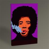 Tablo 360 Jim Hendrix Pop Art Tablo 45X30