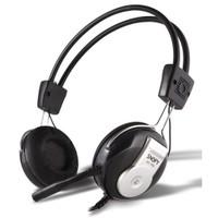 Snopy SN-59A Mikrofonlu Kulaküstü Siyah Kulaklık (9010)