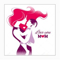 Dekorjinal Anneler Günü Mdf Tablo Mday033