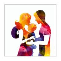 Dekorjinal Anneler Günü Mdf Tablo Mday034