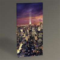 Tablo 360 New York Manhattan At Night Tablo 60X30