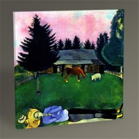Tablo 360 Marc Chagall Tablo 30X30