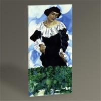 Tablo 360 Marc Chagall Bella With White Collar Tablo 60X30