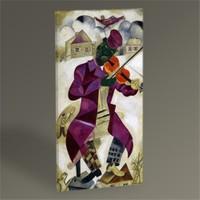 Tablo 360 Marc Chagall The Green Violinist Tablo 60X30