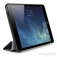 Qapak Apple İpad Mini Piramit Smartcase Tablet Kılıfı Siyah