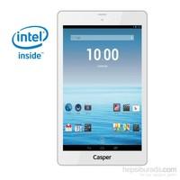 """Casper Via T8-3G Intel Atom Z2580 16GB 8"""" 3G IPS Tablet"""